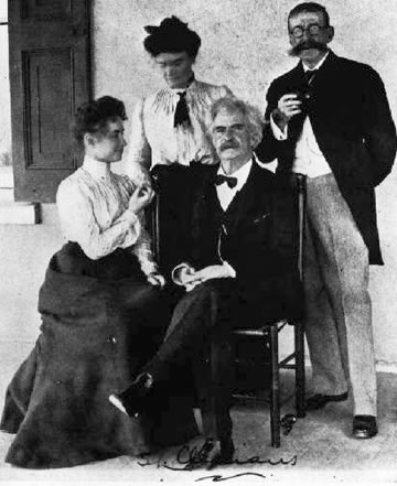mark twain and helen keller relationship